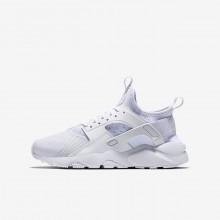 Nike Air Huarache Ultra Lifestyle Shoes Boys White/White AC2831UD