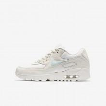 Nike Air Max 90 Lifestyle Shoes Girls Grey AE8097RT