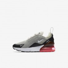Nike Air Max 270 Lifestyle Shoes Boys Black/White AF2051RM