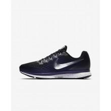 Nike Air Zoom Running Shoes Womens Black/Purple/Metallic Silver AJ7798ON