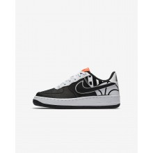 Nike Air Force 1 Lifestyle Shoes Boys Black/White/Black AV3188LB