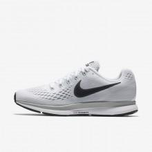 Nike Air Zoom Running Shoes For Women White/Platinum/Grey/Dark Grey AW8398VG