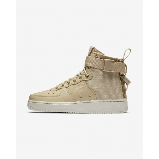 Nike SF Air Force 1 Lifestyle Shoes Womens Brown BJ2526PT