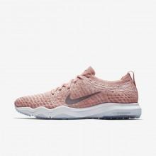 Nike Air Zoom Training Shoes Womens Pink/White BK4023FR
