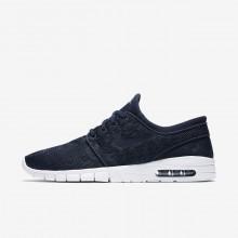 Nike SB Stefan Janoski Max Skateboard Shoes Mens Obsidian/Gold/Obsidian BL4837XJ