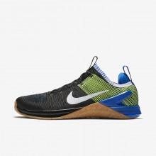 Nike Metcon DSX Flyknit 2 Training Shoes Mens Black/Blue/White BT9946NL
