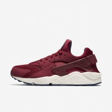 Nike Air Huarache Lifestyle Shoes Mens Red/Navy/Red BU7465CW