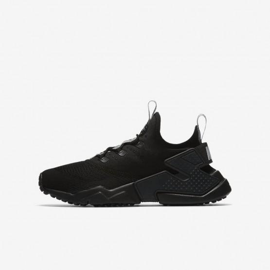 Nike Huarache Lifestyle Shoes Boys Dark Grey/Dark Grey BX4585YQ