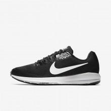 Nike Air Zoom Running Shoes Mens Black/Grey/White CA4826XF