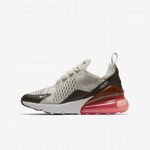 Nike Air Max 270 Lifestyle Shoes Boys Black/White CF5459NE