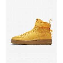 Nike SF Air Force 1 Lifestyle Shoes Mens Orange/Black/Orange CK2940OL