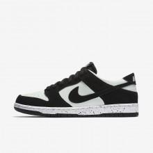 Nike SB Dunk Low Pro Skateboard Shoes Mens Black/Green/White/Black CO6208ZR