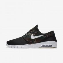 Nike SB Stefan Janoski Max Skateboard Shoes Mens Black/Olive/Light Brown/White CP9524LZ
