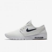 Nike SB Stefan Janoski Max Skateboard Shoes Mens White/Brown/White/Blue CS3063XM