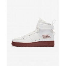 Nike SF Air Force 1 Lifestyle Shoes Mens White/Grey/White CW2336CT