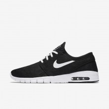 Nike SB Stefan Janoski Max Skateboard Shoes Mens Black/White DF5771JG
