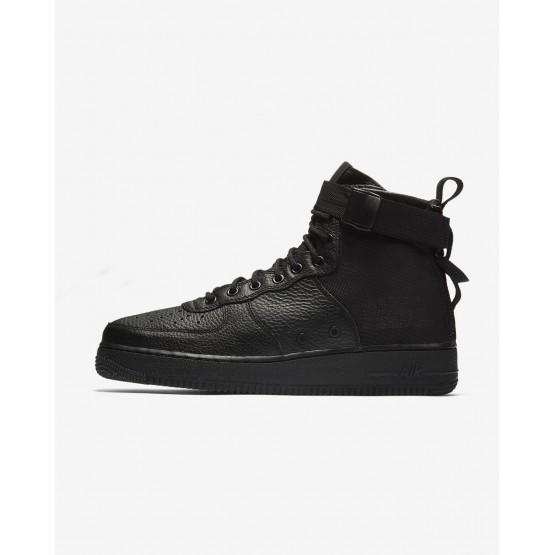 Nike SF Air Force 1 Lifestyle Shoes Mens Black/Black DH2286KS