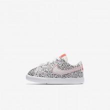 Nike Blazer Lifestyle Shoes Girls White/Black/Light Red/White DO2667NR