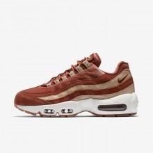 Nike Air Max 95 Lifestyle Shoes Womens Beige/White DQ4227EK