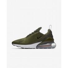 Nike Air Max 270 Lifestyle Shoes Mens Olive/Orange/White/Black DY2523YW