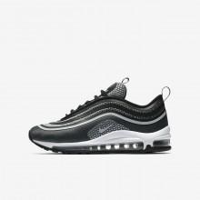 Nike Air Max 97 Ultra Lifestyle Shoes Boys Black/Dark Grey/White/Platinum EP7800GT