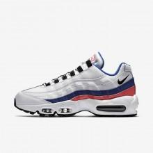 Nike Air Max 95 Lifestyle Shoes Mens White/Red/Black EU9424IS