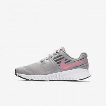 Nike Star Runner Running Shoes Girls Grey/White/Orange EW1897MZ