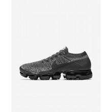 Nike Air VaporMax Flyknit Running Shoes Mens Black/White/Blue/Black FN1976NI