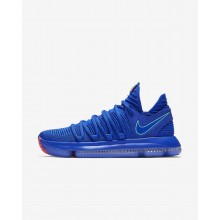Nike Zoom KDX Basketball Shoes Womens Blue/Black/Red FN5238ZL