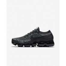 Nike Air VaporMax Flyknit Running Shoes Womens Black/White/Blue/Black FV4475UF