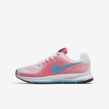 Nike Zoom Running Shoes Girls Pink/White/Black/Blue FV8543SC