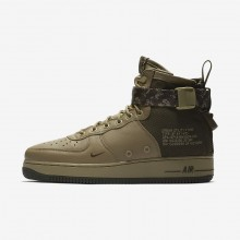 Nike SF Air Force 1 Lifestyle Shoes Mens Olive/Olive/Khaki FX3277XD
