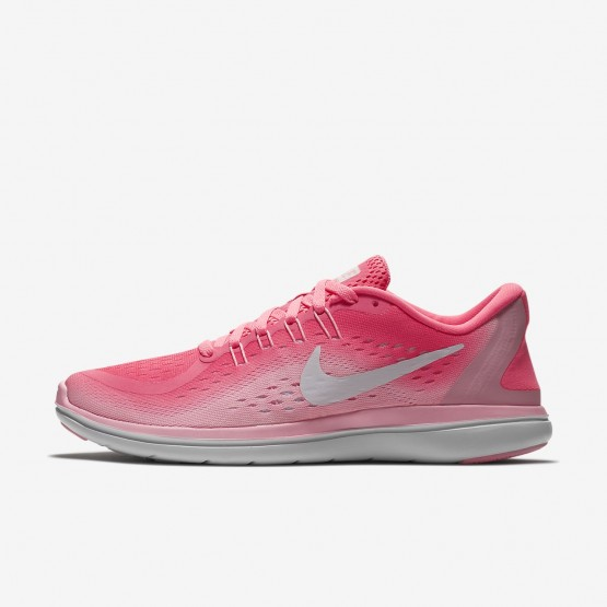 Nike Flex 2017 RN Running Shoes Womens Orange/White GA7728XI