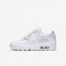 Nike Air Max 90 Lifestyle Shoes Boys White GF3608PR