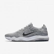 Nike Air Zoom Training Shoes Womens Grey/White/Dark Grey GL1897WN