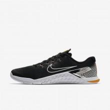 Nike Metcon 4 Training Shoes Mens Black/Orange/Fuchsia/Metallic Silver GV2727QG