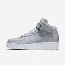 Nike Air Force 1 Lifestyle Shoes Mens Grey/White/Grey GX4793RA