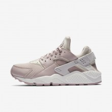 Nike Air Huarache Lifestyle Shoes Womens Grey/White/Rose HP6909XY