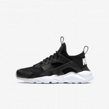 Nike Air Huarache Ultra Lifestyle Shoes Boys Black/White HP7268OY