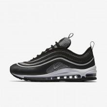 Nike Air Max 97 Ultra Lifestyle Shoes Womens Black/Dark Grey/White/Platinum HP7593RM