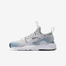 Nike Air Huarache Ultra Lifestyle Shoes Boys Platinum/White HS5159OU