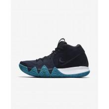 Nike Kyrie 4 Basketball Shoes Mens Dark Obsidian/Black IA4917SI