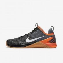 Nike Metcon DSX Flyknit 2 Training Shoes For Men Black/Red/Dark Grey/White IJ6368IR