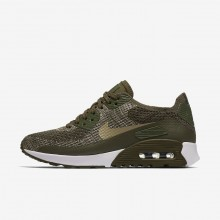 Nike Air Max 90 Lifestyle Shoes Womens Khaki/White/Olive IK4795VC