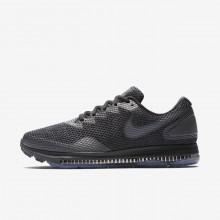 Nike Zoom Running Shoes Mens Black/Dark Grey/Dark Grey IM6127TR