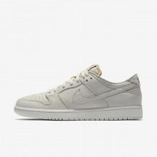 Nike SB Zoom Dunk Low Pro Deconstructed Skateboard Shoes Mens White/Khaki IN4203JQ