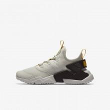 Nike Huarache Lifestyle Shoes Boys Brown IR1472NO