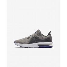 Nike Air Max Sequent 3 Running Shoes Boys Dark Grey/Purple/Black IV3450GW