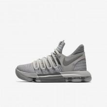 Nike Zoom KDX Basketball Shoes Boys Grey JB2444OC