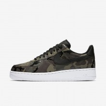 Nike Air Force 1 Lifestyle Shoes Mens Olive/Brown/Black JM6433ZA